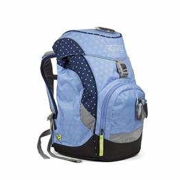 ERGOBAG HimmelreitBär Kinder-Rucksack, 35 cm, Blaue Punkte - 1