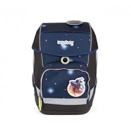 Ergobag Special Edition Galaxy Cubo Schulranzen-Set 5-tlg KoBärnikus 9B8 blaue galaxie - 1